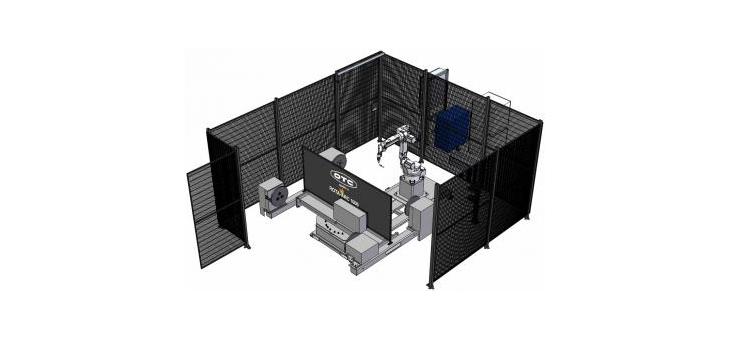 Роботизированная ячейка электродуговой сварки ROTA-ARC 1000