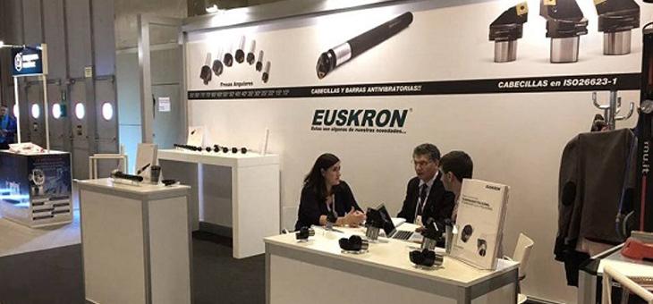 Компания Euskron представила свою продукцию на выставке MetalMadrid