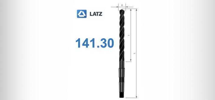 Сверла 141.30 типа N 10 x D классической сверхдлинной серии производства Latz
